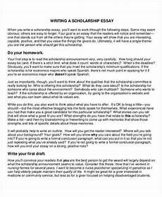 Good Scholarship Essays Free 20 Scholarship Essay Examples Amp Samples In Pdf