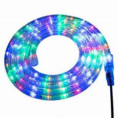 How To Cut 120v Rope Light Multi Color Led Rope Lights 120v Custom Length Rope Lights
