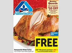 Albertsons Turkey Recipes ? Dandk Organizer