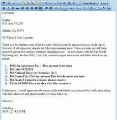 Credit Repair Letters Credit Repair Letters Pdf Planner Template Free
