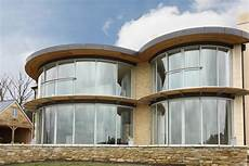 Cubed Glass Windows Stunning Curved Glass Doors For Patios And Public