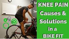 Bike Fit Causes Of Knee And Solutions Youtube
