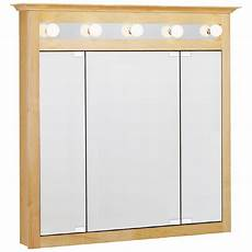 shop estate by rsi lighted surface mount medicine cabinet