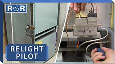 How To Change A Pilot Light Furnace How To Relight A Pilot Light Repair And