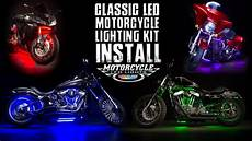 Motorcycle Led Light Kit Ledglow Classic Motorcycle Lighting Kit Install Youtube