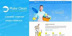 Cleaning Company Services Offered Make Clean Cleaning Company Joomla Template By