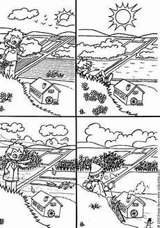 Vier Jahreszeiten Malvorlagen Coloring Page 4 Seasons Img 6435 Summer Coloring
