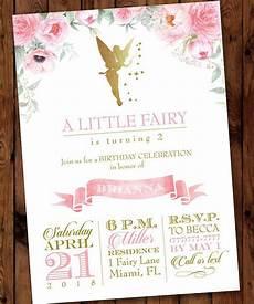 Fairy Party Invitation Wording Fairy Party Invitation Fairy Woodland Invitation Gold