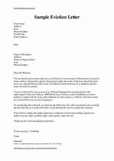 Example Of A Notice Letter Free Eviction Notice Letter Template South Africa Landlord