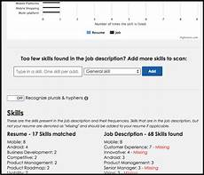 Job Keywords Are Your Resume Keywords Effective Try This Tool To Find