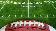 Football Powerpoint Template Football Lace Powerpoint Templates Football Lace