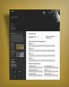 Free Cv Design Templates Free Curriculum Vitae Cv Design Template For Designers