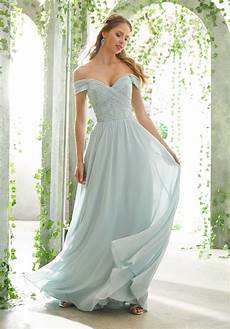 bridesmaid dress with embroidered the