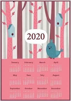Free Calendars 2020 Printable 2020 Yearly Calendar Printable Calendar 2020