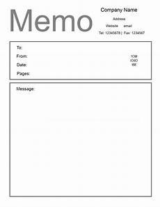 Free Download Memo Free Microsoft Word Memo Template