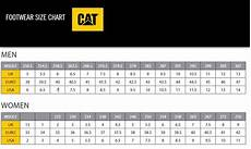 Caterpillar Boots Size Chart Size Chart Shop By Your Shoe Size And Width