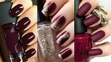 Burgundy And Black Nail Designs 28 Classy Burgundy Nails Designs That You Should Try