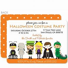 Costume Party Invites Costume Party Invitation Pipsy