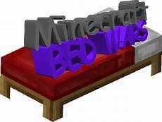 this minecraft bed wars logo crappydesign