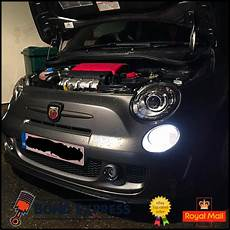 Abarth 500 Lights Fiat 500 2007 Abarth Bright White Led Smd Daytime Running