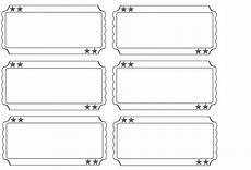 Blank Ticket Stub Template 27 Images Of Fancy Blank Ticket Template Leseriail Com