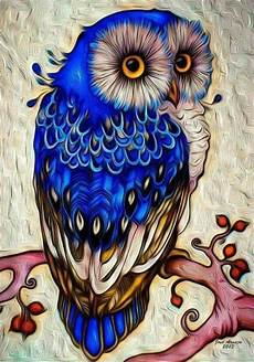 Colorful Owl Art Pin De Shelley Galloway Em Owl Art Pintura De Coruja