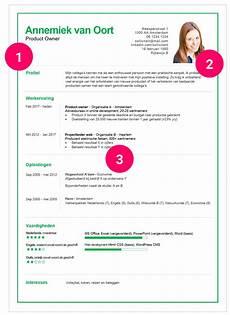 Curriculum Vitae Lay Out Curriculum Vitae Hoe Maak Je Een Professionele Layout