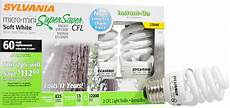 Instant On Cfl Light Bulbs Sylvania Super Saver Light Bulbs Cfl Micro Mini Soft