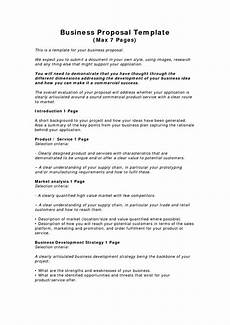 Template Proposal Free Printable Business Proposal Form Generic