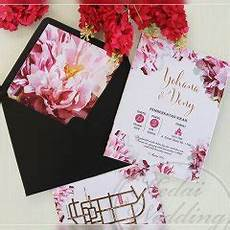 undangan pernikahan simpel elegan single hardcover
