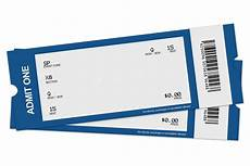 Blank Ticket Stub Template Blank Ticket Png Clipart Best