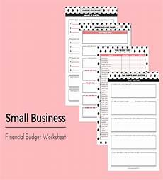 Small Business Budget Worksheet 18 Sample Business Budget Templates Word Pdf Apple