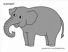 Elephant Printable Elephant Free Printable Templates Amp Coloring Pages