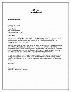 Block Cover Letter 2018 Block Letter Format Fillable Printable Pdf Forms
