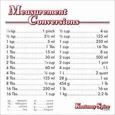 Conversion Chart Cooking Conversion Charts On Pinterest Measurement