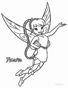 printable disney fairies coloring pages for