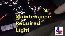 How To Reset Maintenance Light On Can Am Commander How To Reset The Maintenance Required Light 2006 Toyota