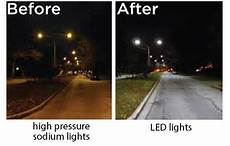 Sodium Lights Vs Led Brian Mckiernan Unified Government District 2 Led2