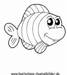 Fische Malvorlagen Zum Ausdrucken Comic Gratis Ausmalbilder Fische Ausmalbilder
