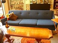 Blue Mid Century Modern Sofa 3d Image by Mid Century Modern Blue Sofa Isn T This Sofa Delish