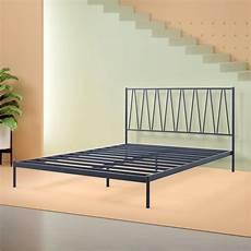 olga metal platform bed frame in 2020 metal platform bed