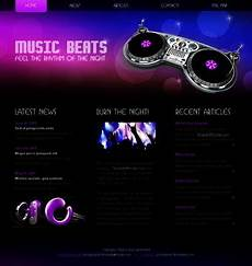 Music Html5 Template Free Html5 Css3 Template Music Website Website Templates