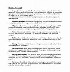 Proposal Sales Sales Proposal Template 19 Free Sample Example Format