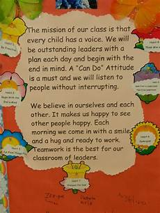 Classroom Mission Statement 17 Best Images About Classroom Mission Statements On