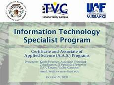 Information Technology Certifications Ppt Information Technology Specialist Program Powerpoint