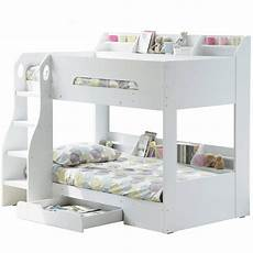 white bunk bed with storage modern bunk beds fads