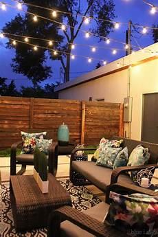 Garden String Lights Ideas How To Hang Patio String Lights In 2019 Ideas String