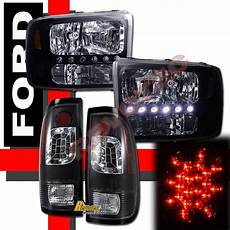 2004 Ford F250 Lights Find 1999 2004 Ford F 250 F 350 Super Duty Led Headlights