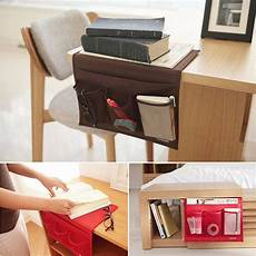 bedside caddy storage mattress pocket holder remote