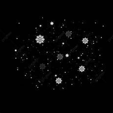 Snow Falling Png Snowing White Snowflakes Falling Floating Flowers Elements